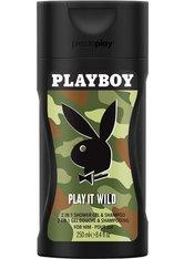 Playboy Play It Wild Men Shower Gel 250 ml Duschgel