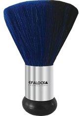 Efalock Professional Friseurbedarf Zubehör Nackenpinsel Ziegenhaar 11 cm Blau, Durchmesser 8 cm 1 Stk.