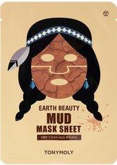 TonyMoly Earth Beauty Mud Mask Sheet 1 Stk. Tuchmaske