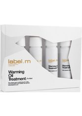 Label.M Warming Oil Treatments Pack Pack 4x 15 ml Haaröl