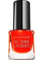 Max Factor Mini Gel Shine Lacquer 20 Vivid Vermillio 4,5 ml Nagellack