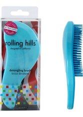 Rolling Hills Professional Detangling Brush Blue Haarbürste
