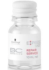 SCHWARZKOPF - Schwarzkopf BC Bonacure Express Shot Repair 8 x 10 ml Haarserum - Conditioner & Kur