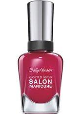 SALLY HANSEN - Sally Hansen Complete Salon Manicure Nagellack 543-Berry Important 14,7 ml - Nagellack