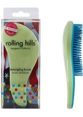 Rolling Hills Professional Detangling Brush Light Green Haarbürste