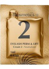 Biosmetics Brow Lamination & Lash lift Formular Cream 2 Neutralizer 10 x 1 ml Entwicklerflüssigkeit