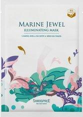 Shangpree Marine Jewel Illuminating Mask 30 ml Tuchmaske