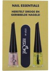 Herôme Nail Essentials Set trockene und gerippte Nägel Nagelpflegeset