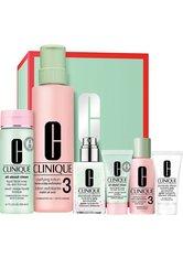 CLINIQUE - Aktion - Clinique Great Skin Everywhere Set für ölige Mischhaut und ölige Haut (Online-Special) Gesichtspflegeset - Pflegesets