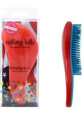 Rolling Hills Professional Detangling Brush Red Haarbürste