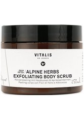 VITALIS Dr Joseph Alpine Herbs Exfoliating Body Scrub 250ml Körperpeeling