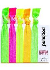 The Popband Solid - glo Haargummi 5 stk Haarband