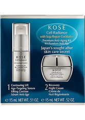 Kosé Cell Radiance Soja Repair Cocktail Premium Anti-Aging Kit 2 x 15 ml Gesichtspflegeset