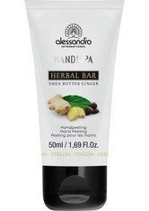 Alessandro Hand!Spa Herbal Bar Peeling Sheabutter/Ginger 50 ml Handpeeling