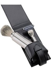 Becker Manicure Shaving Shop Rasiersets Rasier-Set in Ledertasche. 3-teilig 1 Stk.