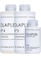 OLAPLEX - Set - Olaplex Profi Haarpflege-Trio Haarpflegeset - Haarpflegesets