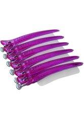 Swiss O-Par Profiline Clips 6er Pack pink Haarklammern
