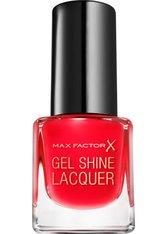 Max Factor Mini Gel Shine Lacquer 25 Patent Poppy 4,5 ml Nagellack