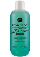 Faby Mild Acetone Polish Remover Aloe Vera 1000 ml Nagellackentferner