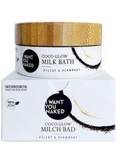 I Want You Naked Kokos-Milchbad - Kokosnuss & Vitamin E 160 g Bademilch