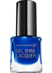 Max Factor Make-Up Nägel Mini Gel Shine Lacquer Nr. 40 Glazed Cobalt 4,50 ml