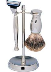 Erbe Shaving Shop Rasierset dreiteilig, verchromt/glänzend, Gillette Mach 3