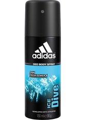 Adidas Ice Dive Deo Body Spray 150 ml Deodorant Spray