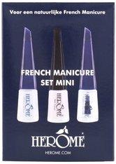 Herôme Cosmetics French Manicure Set Mini Nagellack-Set 1 Stk No_Color