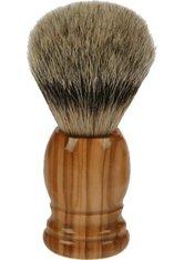 Fantasia Rasierpinsel Olivenholz, Höhe 10,5 cm