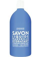 La Compagnie de Provence Algue Velours Hydrating Hand Liquid Soap - Refill Flüssigseife 1000 ml