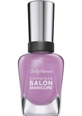SALLY HANSEN - Sally Hansen Complete Salon Manicure Nagellack 406-Purple Heart 14,7 ml - Nagellack