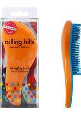 Rolling Hills Professional Detangling Brush Orange Haarbürste