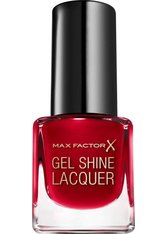 Max Factor Mini Gel Shine Lacquer 50 Radiant Ruby 4,5 ml Nagellack