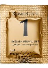 Biosmetics Eyelash Perm & Lift Cream 1 Waving Lotion 10 x 1 ml Entwicklerflüssigkeit