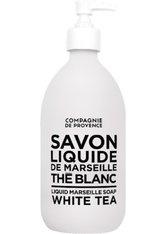 La Compagnie de Provence Black & White Liquid Marseille Soap White Tea Flüssigseife 500 ml