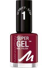 Manhattan Make-up Nägel Super Gel Nail Polish Nr. 685 Seductive Red 12 ml
