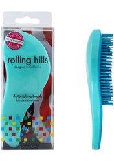 Rolling Hills Professional Detangling Brush Green Haarbürste