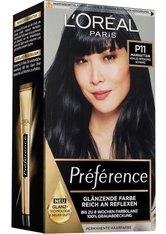 L'Oréal Paris Préférence P11 Kühles Intensives Schwarz (Manhattan) Coloration 1 Stk. Haarfarbe