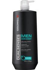 GOLDWELL - Goldwell Dualsenses Men Hair & Body Shampoo 1,5 L Duschgel - Shampoo