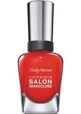 SALLY HANSEN - Sally Hansen Complete Salon Manicure Nagellack 554-New Flame 14,7 ml - Nagellack