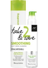 Set - Paul Mitchell Save on Duo Smoothing 300 ml + 150 ml Haarpflegeset