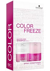 Aktion - Schwarzkopf BC Bonacure Color Freeze Set Shampoo + Spray Conditioner Haarpflegeset