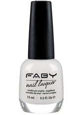 Faby Nagellack Classic Collection Optical White 15 ml