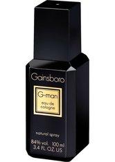 GAINSBORO - Gainsboro G-Man Natural Spray Eau de Cologne 100 ml - BODYSPRAY