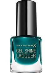 Max Factor Mini Gel Shine Lacquer 45 Gleaming Teal 4,5 ml Nagellack