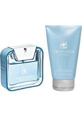 Trussardi Herrendüfte Blue Land Geschenkset Eau de Toilette Spray 50 ml + Shampoo & Shower Gel 100 ml 1 Stk.
