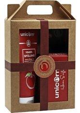 UNICORN COSMETICS - Unicorn Geschenk-Set unicorn Haarseife 100g + Spülung 150ml Haarpflegeset - Haarpflegesets