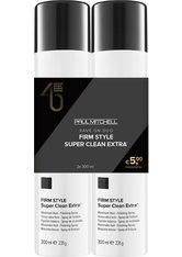 Aktion - Paul Mitchell Save On Duo Super Clean Extra 2 x 300 ml Haarspray