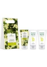 LaNature Geschenkset in Grifftasche klein Lemon-Myrtle SG/BL/HC Körperpflegeset