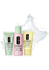 Clinique Produkte 3-Step Skin Care System Set Hauttyp 3 = Liquid Facial Soap 30 ml + Clarifying Lotion 3 60 ml + DDMG 30 ml Eau de Parfum (EdP) 1.0 st